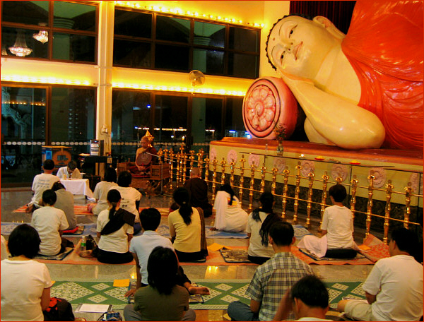 Mindfulness retreat at Sri Ramayana temple, Singapore